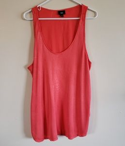 🌞$20 for 4🌞 Mossimo Coral Knitted Tanktop